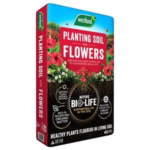 Bio Life Planting Soil For Flowers 40l