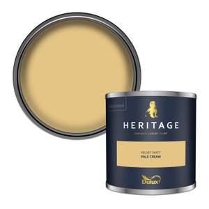 Dulux Heritage Colour Tester - Pale Cream - 125ml
