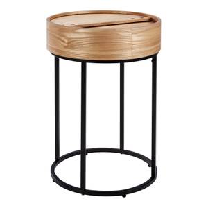 Halo Wood Side Table