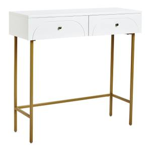 Taylor 2 Drawer Console Desk - White