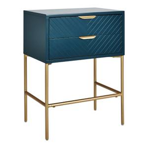 Trixie 2 Drawer Bedside Table - Blue