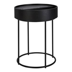 Halo Black Ash Side Table