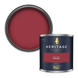 Dulux Heritage Colour Tester - Pugin Red - 125ml