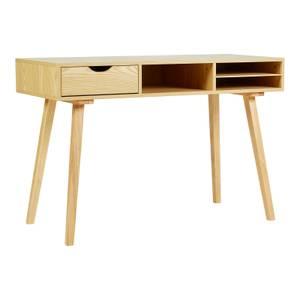 Derek Desk with Drawer & Shelf