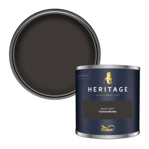 Dulux Heritage Colour Tester - Tudor Brown - 125ml