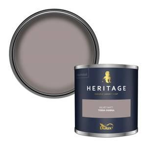 Dulux Heritage Colour Tester - Terra Ombra - 125ml