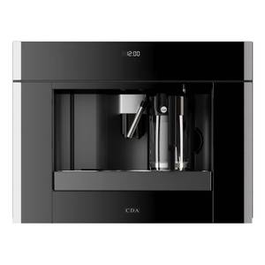 CDA VC820SS Built-In Coffee Machine Fully Automatic Touch Control - 60cm - Stainless Steel