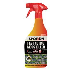 Spot On Fast-acting Moss Killer 1l