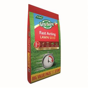 Grosure Fast Acting Lawn Seed - 375m2