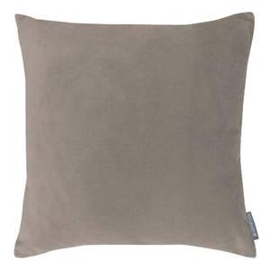 Country Living Velvet Linen Cushion - 45x45cm - Latte