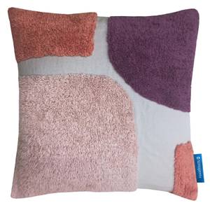 House Beautiful Squares Tufted Cushion - 45x45cm - Blossom