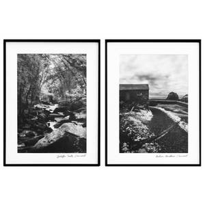 Country Living Set of 2 Country Scene Prints - 30x40cm