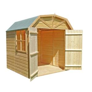 Shire Barn Style Shed (incl. installation) - 7x7ft