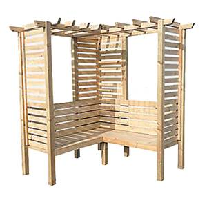 Shire Clematis Arbour (incl. installation) - 6x6