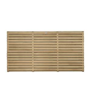 Contemporary Fence Panel 1.8mx0.9m 3Pack
