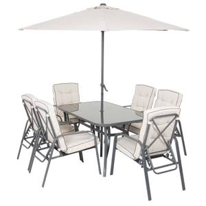 Rowly 8 Piece Garden Dining Set