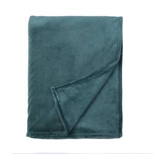 Fleece Throw Teal 120x150cm