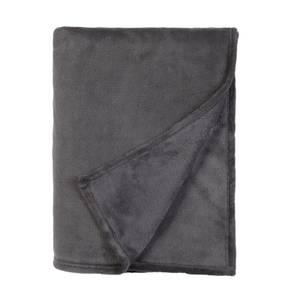 Fleece Throw Charcoal 150x200cm