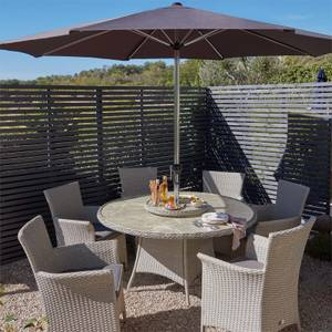 Cornbury 6 Seater Garden Dining Set