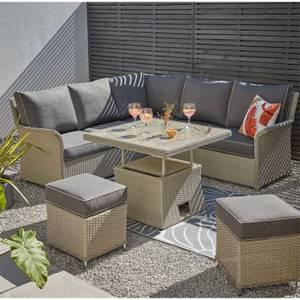 Cornbury Corner Garden Sofa Set