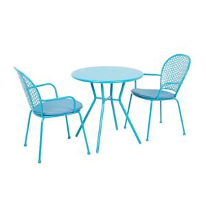 Emilie Bistro Set - Blue