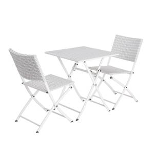 Lettie Bistro Set - Grey