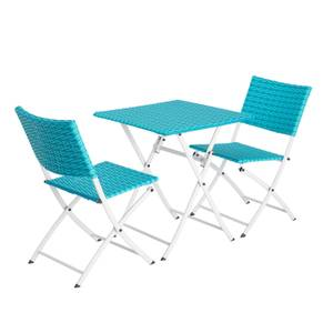 Lettie Bistro Set - Blue