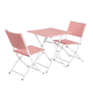 Lettie Bistro Set - Pink