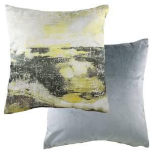 Watercolour Landscape Cushion - Ochre