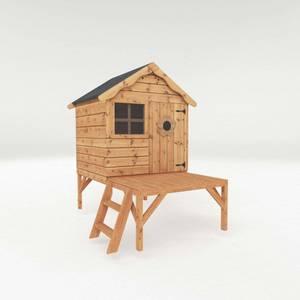 Mercia Snug Playhouse With Tower
