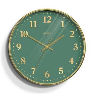 Jones Penny Wall Clock - Brass