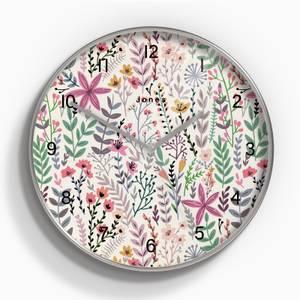 Jones Crystal Wall Clock - Floral