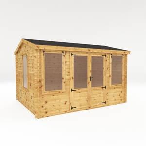 Mercia 4 x 3m 19mm Reverse Log Cabin