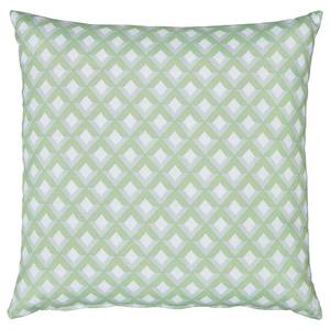 Homebase Outdoor Scatter Cushion in Geometric Green
