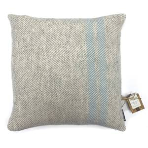 Country Living Wool Herringbone Stripe Cushion - 50x50cm