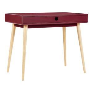 House Beautiful Mateo Plum Desk - Small