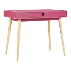 House Beautiful Mateo Pink Desk - Small