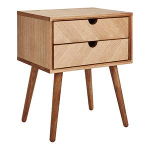 Sonia 2 Drawer Bedside Table