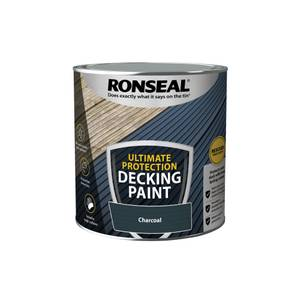 Ronseal Ultimate Protection Decking Paint Charcoal 2.5L