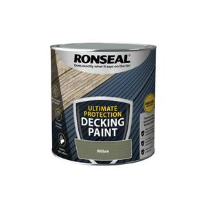 Ronseal Ultimate Protection Decking Paint Willow 2.5L