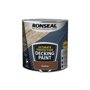 Ronseal Ultimate Protection Decking Paint Chestnut 2.5L