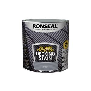 Ronseal Ultimate Protection Decking Stain Slate 2.5L