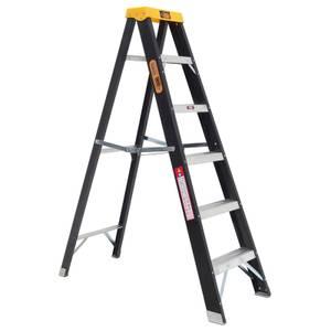 Rhino Fibreglass Step Ladder - 6 Tread