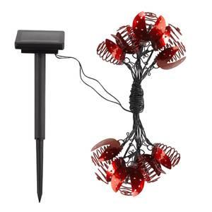 Smart Solar Ladybird Lights - Set of 10