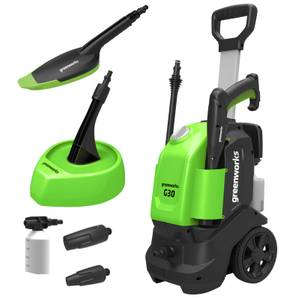 Greenworks G3 Pressure Washer (with Patio Head and Brush)