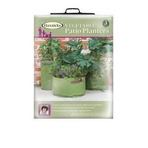 Vegetable Patio Planter X3