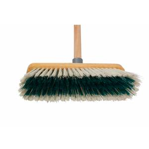 279mm Dual Fill Wooden Broom with Handle