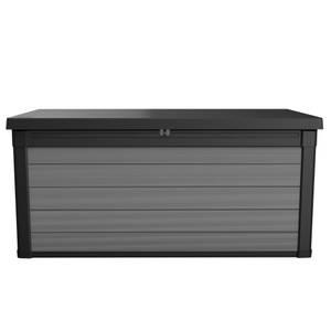 Keter Premier 100 Outdoor Plastic Garden Storage Box 380L - Grey