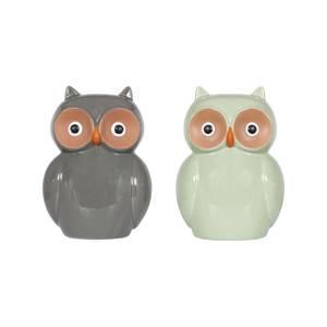 Ceramic Owl Garden Ornament - 25cm