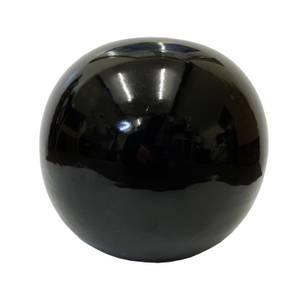 Chiswick Black Sphere Garden Ornament - 25cm